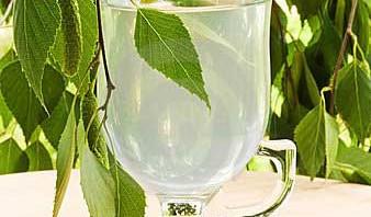 Напиток из березового сока
