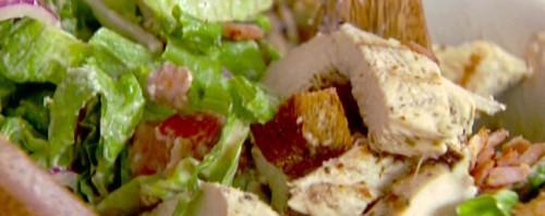 Классический салат с курицей