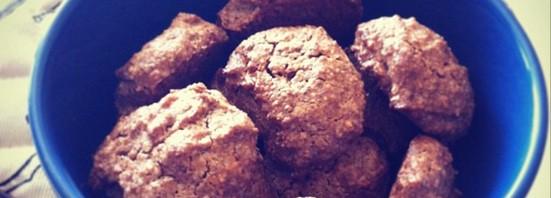 Ореховое печенье без масла и муки